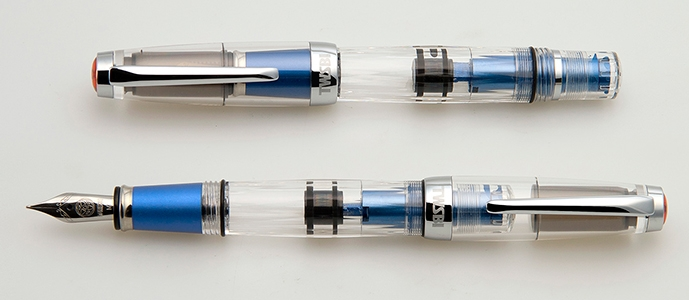 Pluma Twsbi Diamond Mini AL Blue